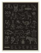 Image of Animals - Black
