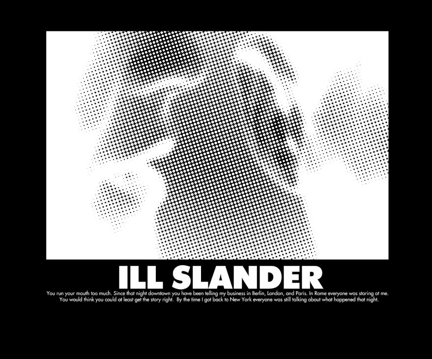 Image of C.O.I. SLANDER PHOTO B/W TEE CLASSIC EDITION