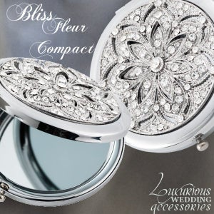 Image of Bliss Swarovski Crystal Mirror Compact