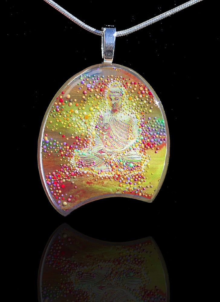 Image of Buddha's Light Metaphysical Energy Pendant