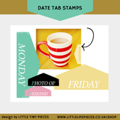 Image of Date Tab Stamps