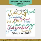 Image of Handwritten Season Brushes