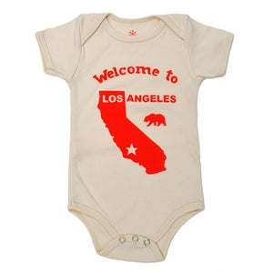 Image of Welcome to Los Angeles onesie