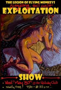 Image of LFM Singalong, Evil Cult Exploitation Show - poster