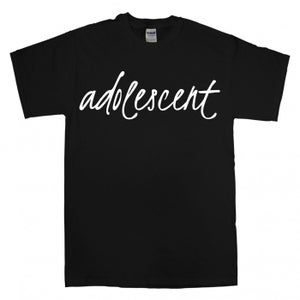 Image of Adolescent Black Tee
