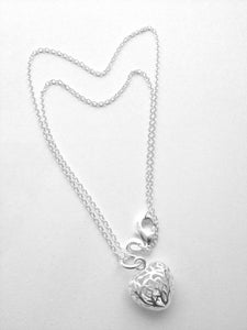 Image of 925 Silver Filigree necklace