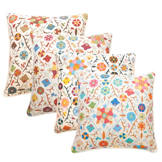 "Image of Safi Suzani Single Sided 22"" Pillows"