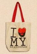 Image of I Love My Beardsman Tote Bag