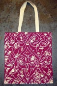 "Image of MJL ""Postal Owl"" Tote, Canvas"