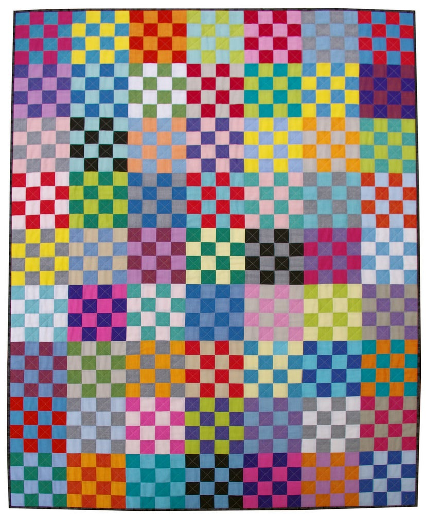 Image of Be Squared Quilt Pattern (pdf file)