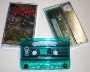 Image of Virulent Gestation // Hermaphroditic Incest... Split Cassette tape