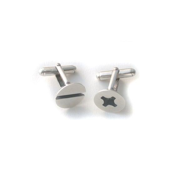 Image of screw cufflinks
