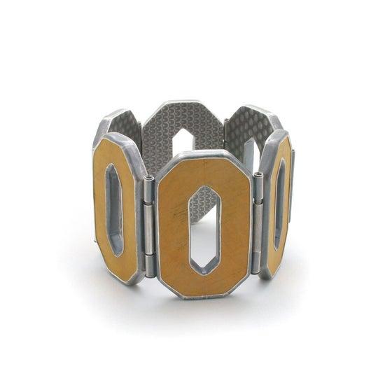 Image of yellow O bracelet
