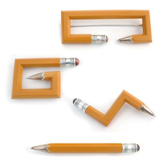Image of pencil pins