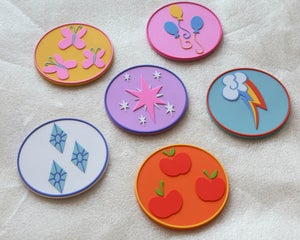 Image of Elements of Harmony Coasters!