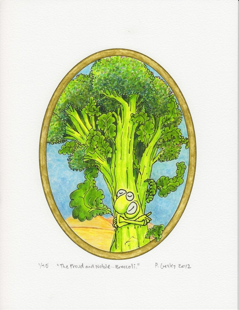 """Image of """"The Proud and Noble... Broccoli"""""""