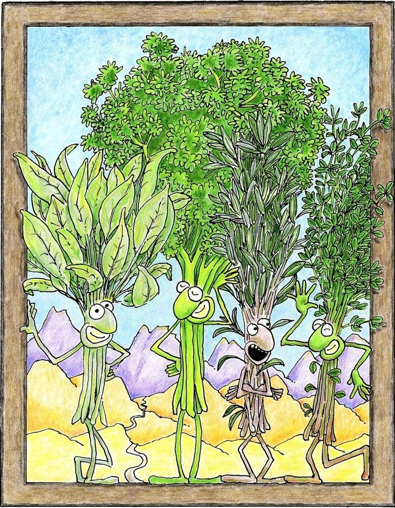 "Image of ""... Parsley, Sage Rosemary & Thyme..."""