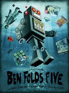 Image of Ben Folds Five! Seattle.