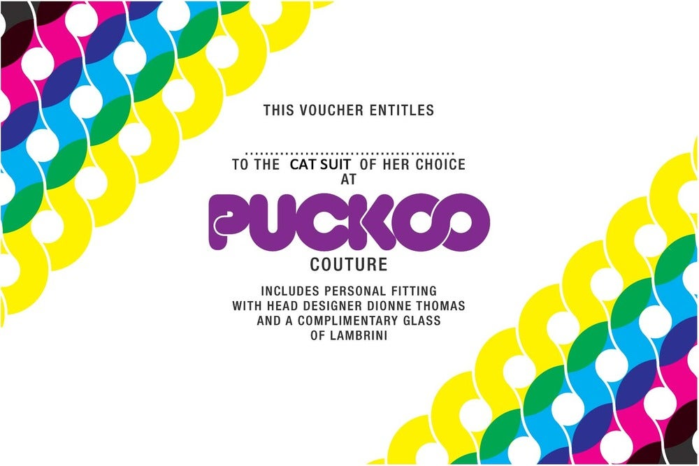 Image of £50 - £250 Custom Catsuit Voucher