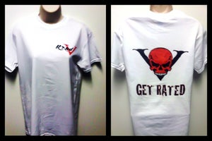 """Image of Rated V """"Get Rated"""" unisex t shirt"""