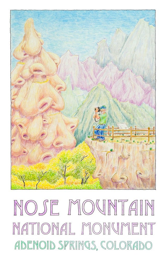 """Image of """"Nose Mountain National Monument."""""""