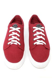 Image of The Moibster - Casual Canvas Shoe - Wine Red - FREE SHIPPING AUS WIDE
