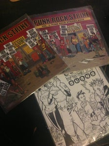 Image of Punk Rock Strike Compilation CDs!  (Steve Rolston/Ed Tadem/Struble)