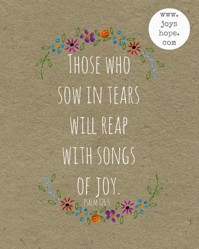 Image of Songs of joy.