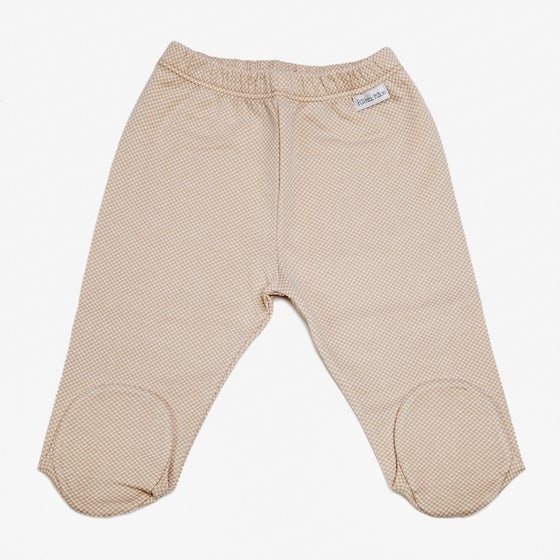 Image of Polaina Cuadritos Beige
