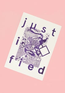 Image of Justified Print