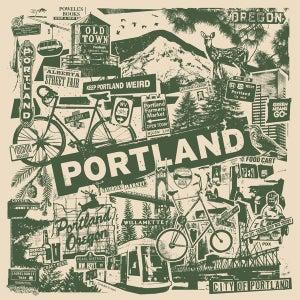 Image of Portland Oregon City Print