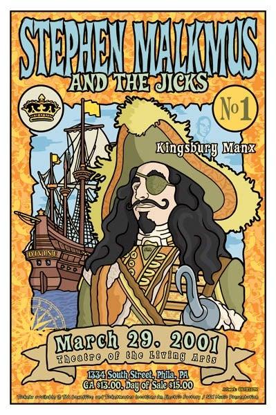 Image of Stephen Malkmus And The Jicks Hook Poster 2001