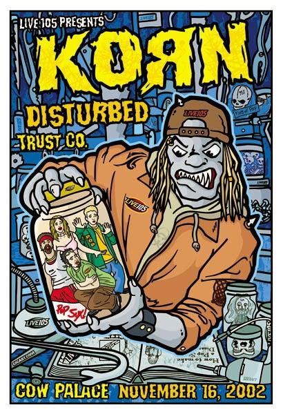 Image of Korn Poster 2002