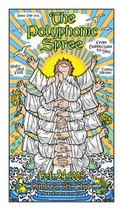 Image of The Polyphonic Spree Noise Pop 2005 Poster