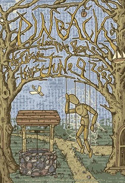 Image of Pinback Poster 2005