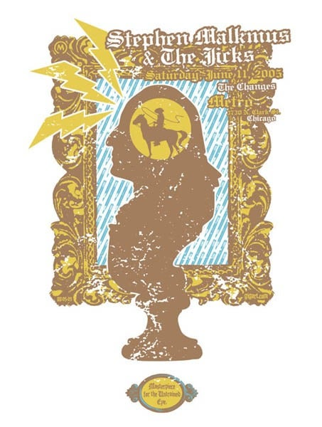 Image of Stephen Malkmus And The Jicks Metro Poster 2005