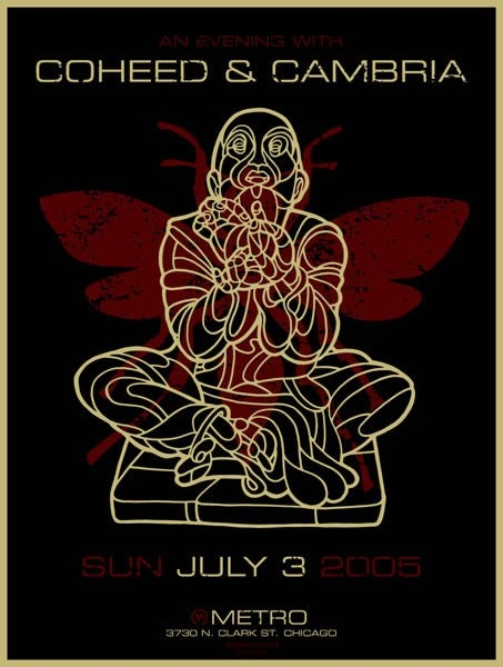 Image of Coheed & Cambria Poster 2005
