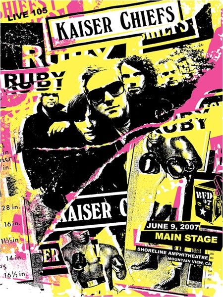 Image of Kaiser Chiefs Poster 2007