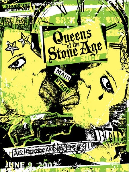Image of Queens Of The Stone Age Poster 2007