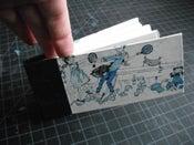 Image of Hand-bound Oblong Sketchbook