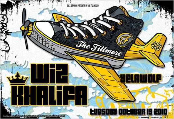 Image of Wiz Khalifa & Yelawolf Poster 2010