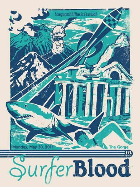 Image of Surfer Blood Poster 2011