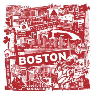 Image of Boston City Print