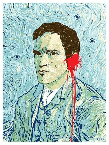 Image of Van Tino Quentin Tarantino Art Print