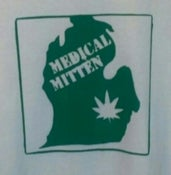 Image of medical mitten t shirt