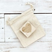 Image of 'Heart' Wooden Stamp