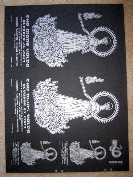 Image of The Mars Volta Uncut Poster Sheet