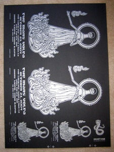 Image of The Mars Volta Uncut Poster Sheet
