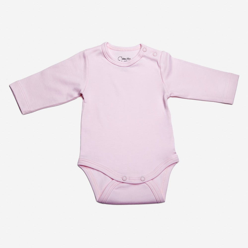 Image of Body Blanco,Azul o Rosa con Broche