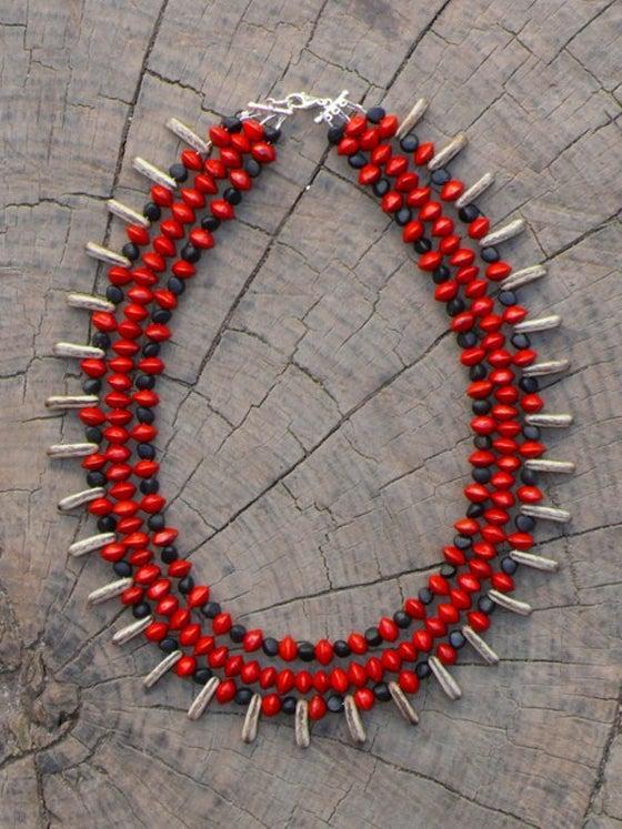 Image of Triple Botanical Necklace